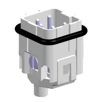 5x10A (4P+E) - Wkład męski złącza elektrycznego MALE INSERT ,   , 4X10A - METE