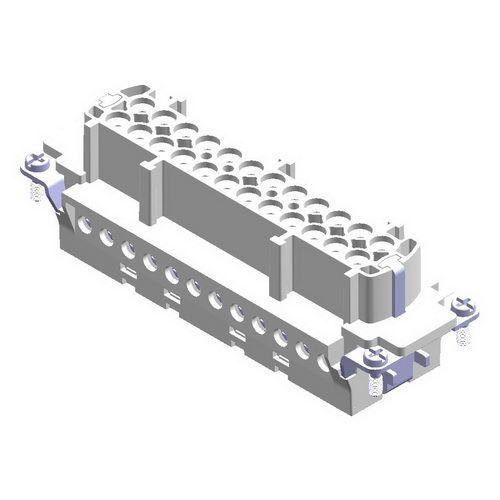 24X16A (24P+E) Wkład żeński złącza elektrycznego  (1 - 24) - METE