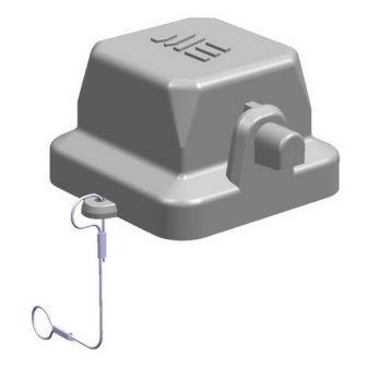 5x10A (4P+E) - Pokrywa złącza elektrycznego COVER FOR FEMALE INSERT ,  , 4X10A - METE