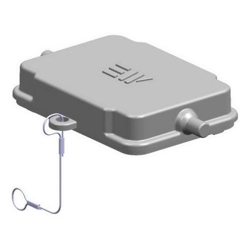 6x16A (6P+E) Pokrywa złącza elektrycznego z uszczelką  COVER FOR HOUSING ,  , 6X16A - METE