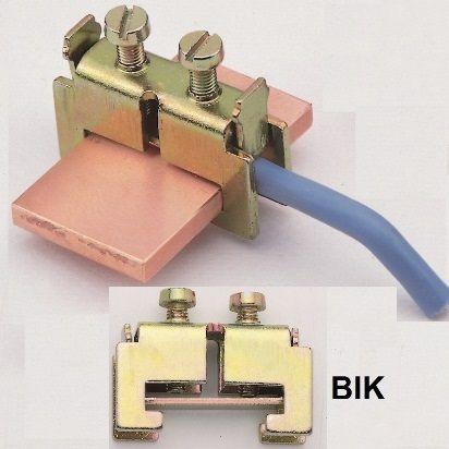 BIK 1 Mocowanie przewodów 1.5 - 6 mm2 - Klemsan