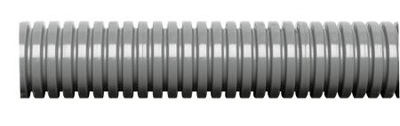 EW-PA-M10/P7 Osłona kablowa szara, Poliamid P6 (8,5/11,6) - Murrplastik
