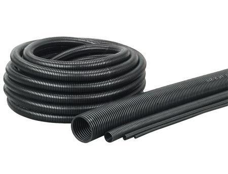 EW-TEF 7,5 Osłona kablowa czarna, TEFLONOWA (7,6/10,7) - Murrplastik