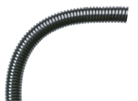 EW-PRF 70 Osłona kablowa czarna JUMBO, Poliamid P12 (68,4/80,0) - Murrplastik