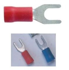 KCK 401 (0.5-1.5mm2) Końcówka kablowa - izolowana k. czerwony - Klemsan