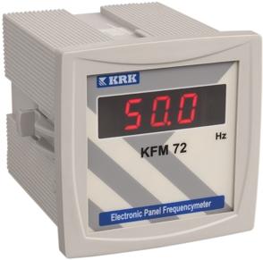 KFM 72 Cyfrowy miernik częstotliwości sieci. 1-fazowy. 20 … 400 Hz - KARACA