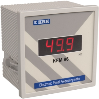 KFM 96 Cyfrowy miernik częstotliwości sieci. 1-fazowy. 20 … 400 Hz - KARACA