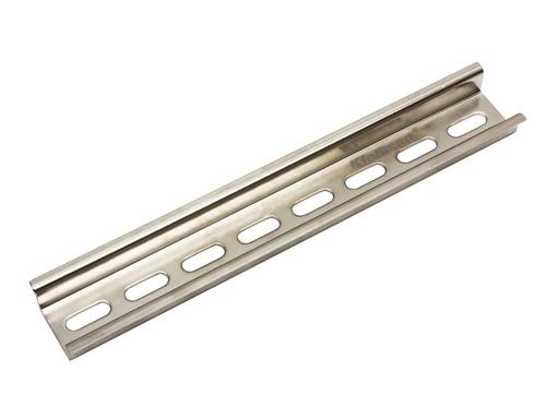 TS35/15P-1m - Szyna montażowa DIN perforowana. L=1m. Listwa montażowa - KARACA