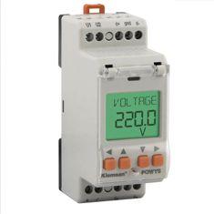 POWYS 1120  Analizator parametrów sieci na szynę DIN. Komunikacja MODBUS RS485.Wyświetlacz LCD - Kle