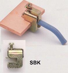 SBK 16/10 Mocowanie listwowe przewodów 1.5 - 16mm2 - Klemsan