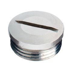 BST PG 29 end plug nickel plated brass - Murrplastik