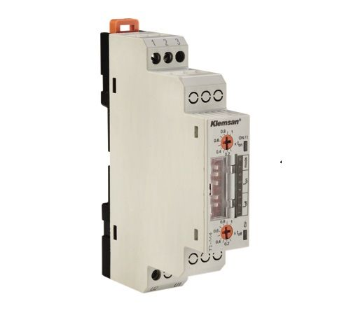 T1-M4  Przekaźnik czasowy, wielofunkcyjny 1P 5A,1s=>10d, 24-300V AC/DC, Opóźnione załączenie/wyłącze