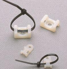 VK 1 Mocowanie śrubowe kabla - biały - Klemsan